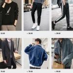 Nguồn hàng quần áo nam Quảng Châu đẹp, giá rẻ tại TPHCM