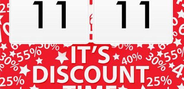 Ngày hội độc thân Trung Quốc 11-11, ngày hội giảm giá