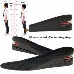 Lót giày tăng chiều cao giá rẻ, chất lượng tại tphcm